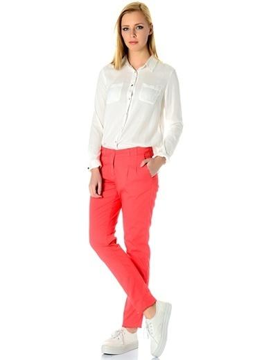 Asymmetry Pantolon Kırmızı
